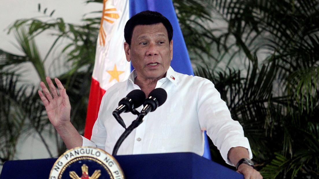 """""""Si funciona en mí, funcionará en todos"""": Duterte se ofrece como voluntario para probar la vacuna rusa contra el covid-19"""