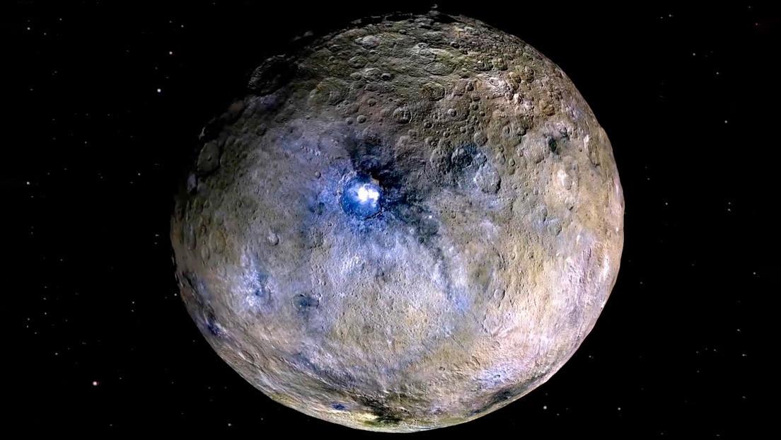 Revelan que los misteriosos puntos brillantes del planeta enano Ceres están vinculados a océanos subterráneos salados