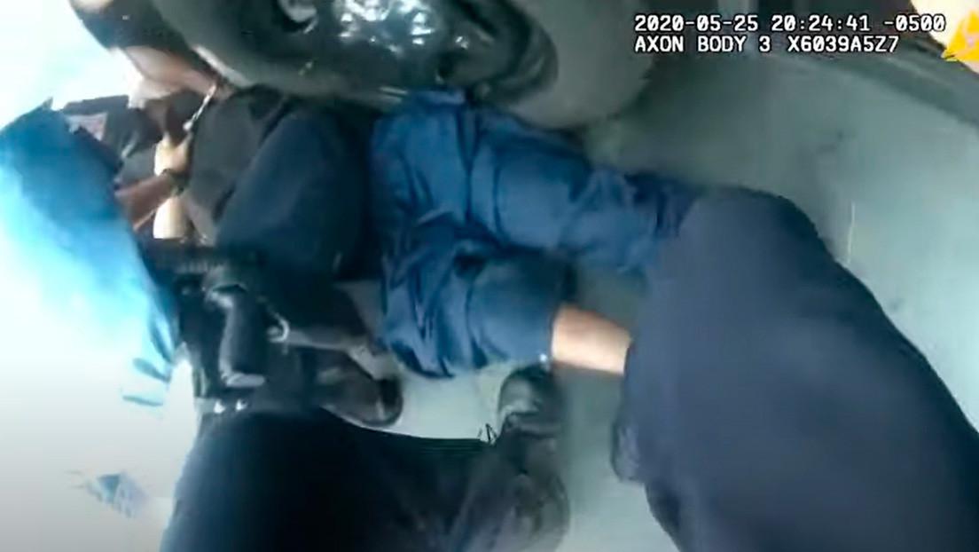 Publican un nuevo video del arresto de George Floyd grabado con las cámaras corporales de los agentes