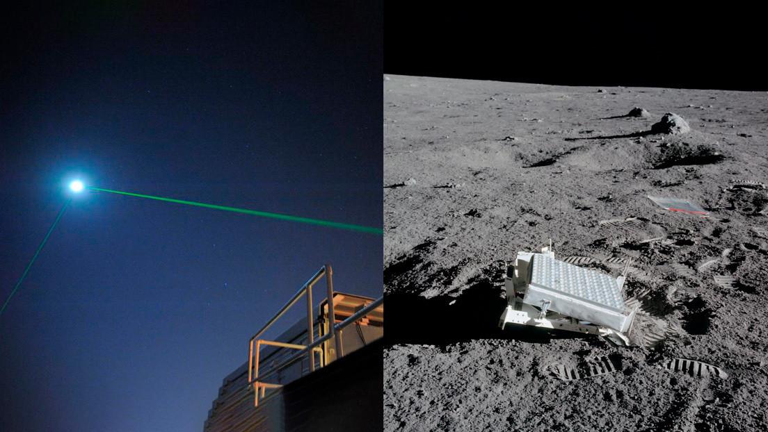 La NASA logra reflejar un láser en la Luna por primera vez tras intentarlo durante más de una década