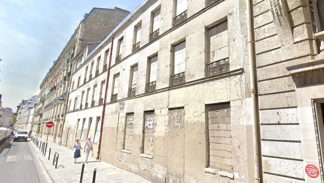 Hallan un cuerpo momificado de hace 30 años en una mansión parisina subastada por 41,2 millones de dólares