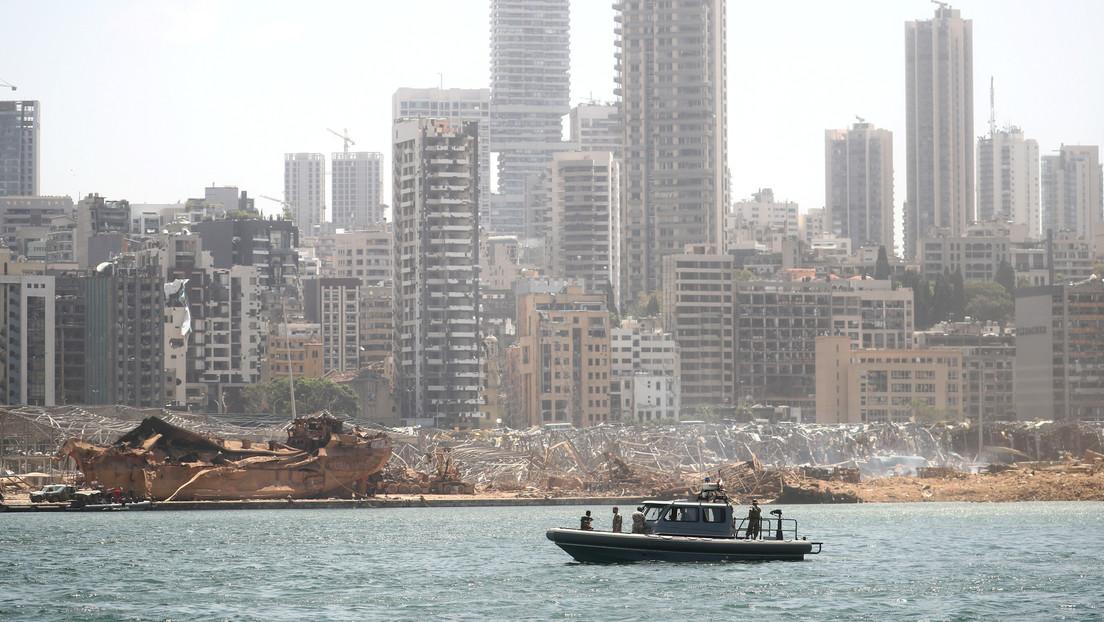 VIDEO: El momento de la explosión de Beirut grabado desde el interior de un hospital afectado