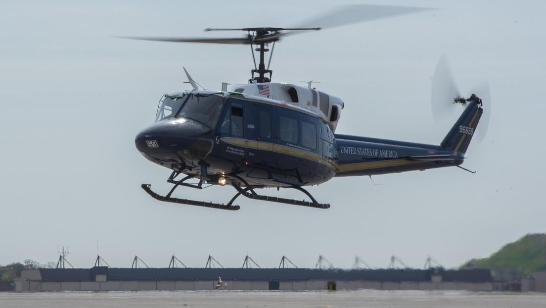 Disparan a un helicóptero de la Fuerza Aérea de EE.UU. y hieren a un miembro de la tripulación, provocando un aterrizaje de emergencia