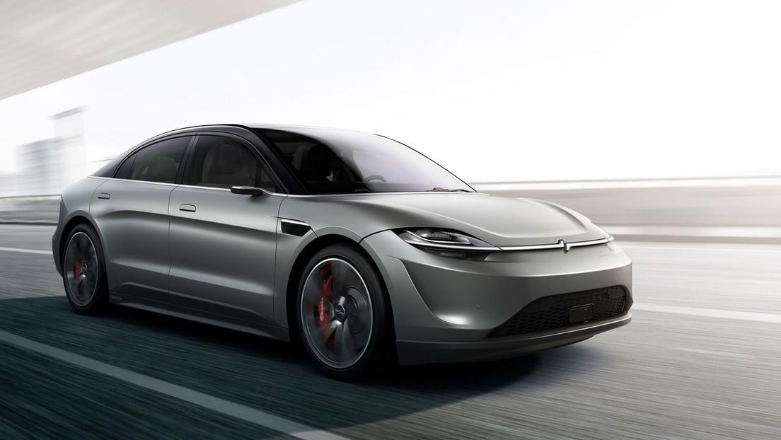 Sony prepara su prototipo de coche eléctrico Vision-S (VIDEO)