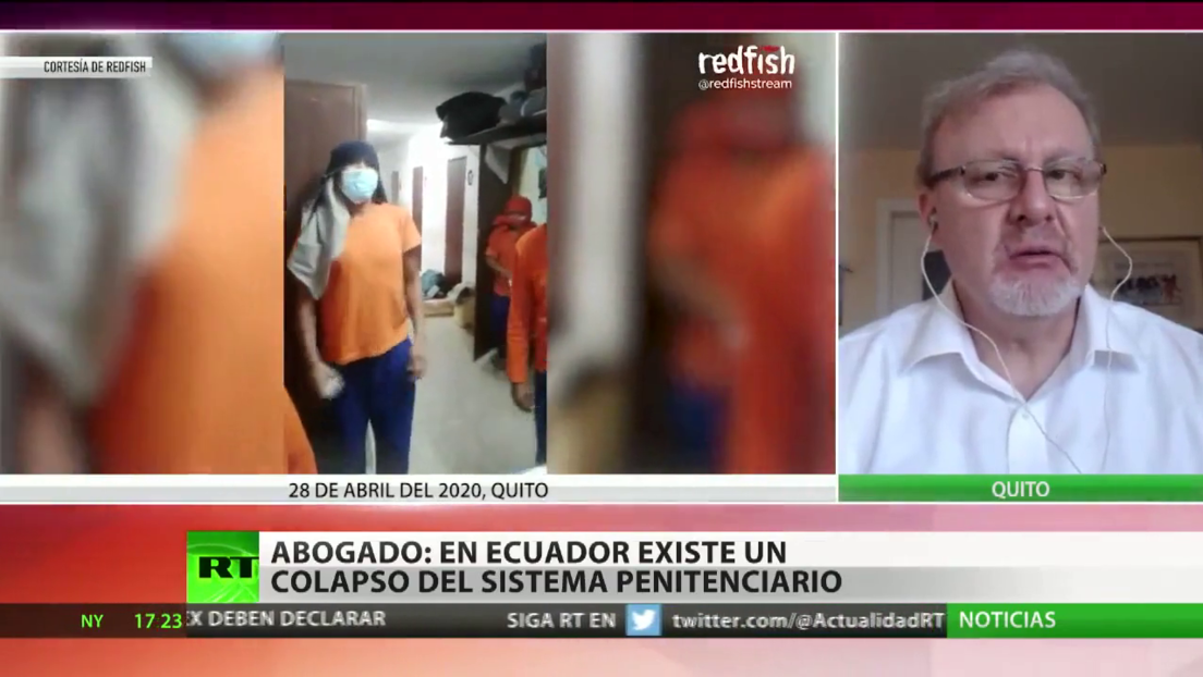 "Abogado: ""En Ecuador existe un colapso del sistema penitenciario"""
