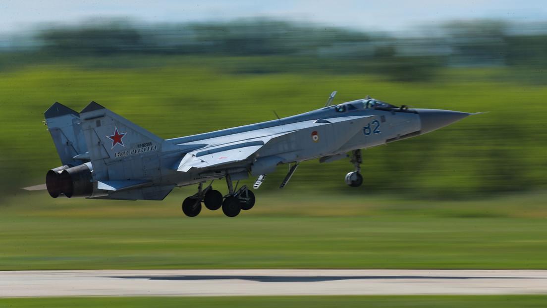 Un caza ruso intercepta un avión espía de EE.UU. que se acercaba a la frontera de Rusia sobre el mar de Barents