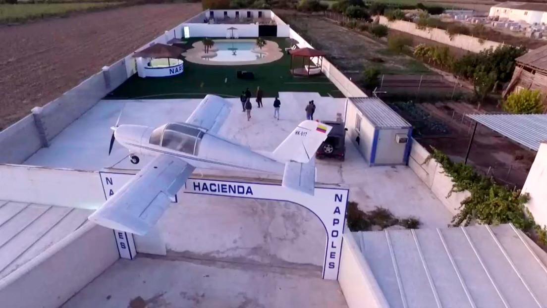 VIDEO: Desarticulan en España a una banda de narcos que tenía una propiedad en Granada que emulaba a la Hacienda Nápoles de Pablo Escobar