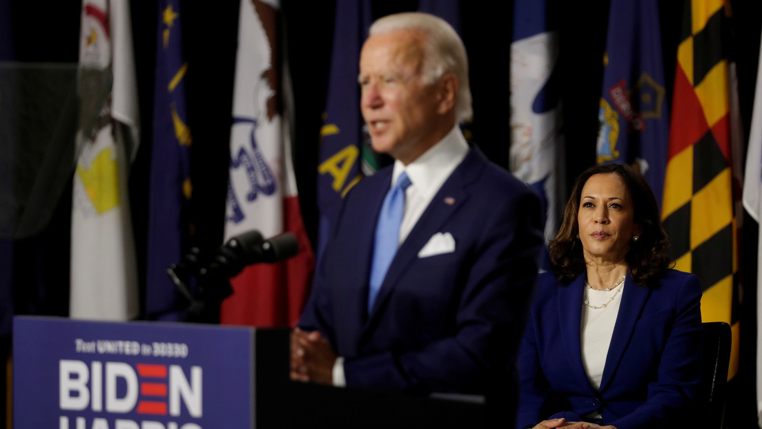 """Trump tacha de """"mujer loca"""" a Kamala Harris, candidata demócrata a la vicepresidencia"""