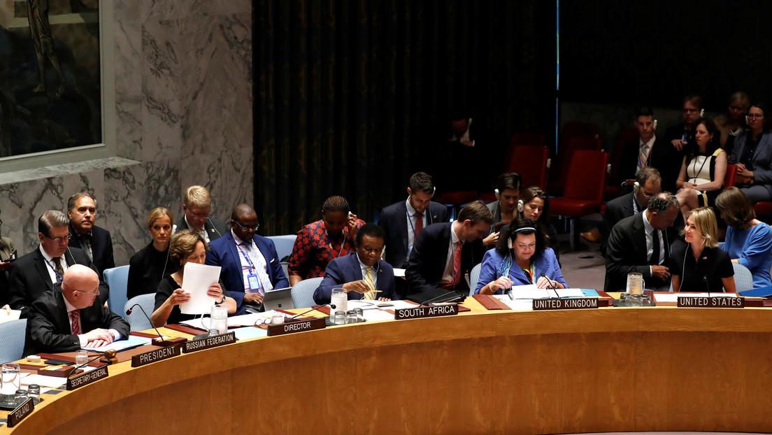 """Pompeo: El Consejo de Seguridad de la ONU rechazó """"una resolución razonable"""" sobre la extensión del embargo de armas a Irán"""
