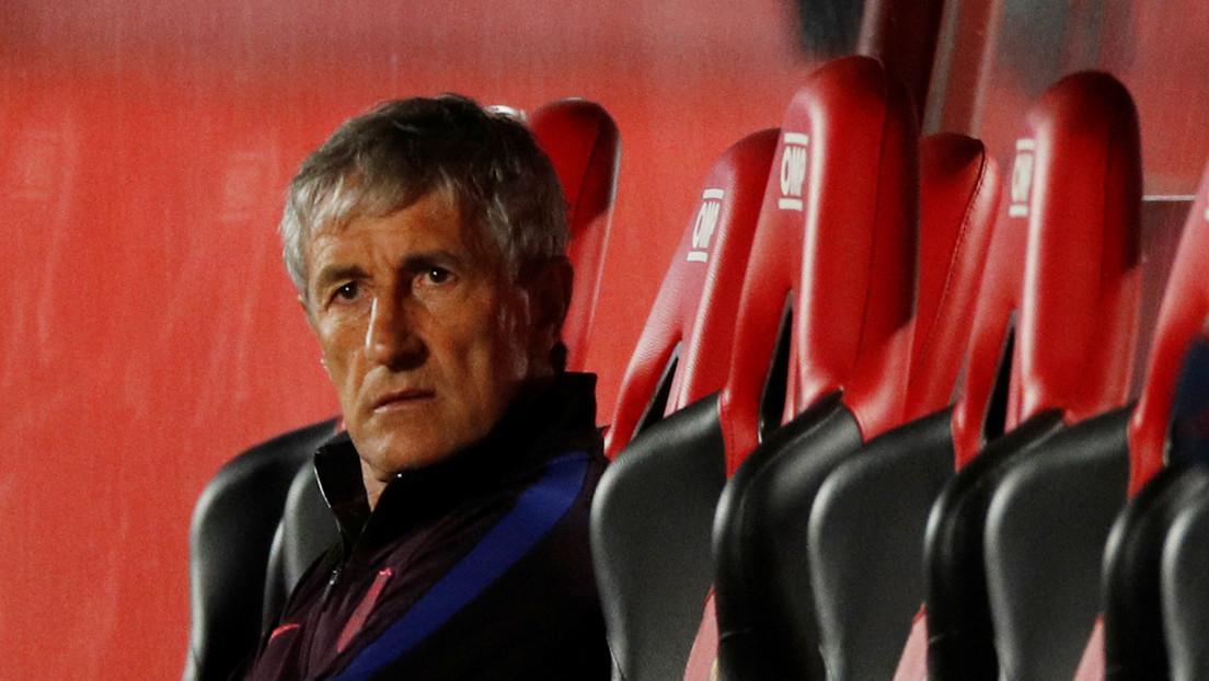 ¿Adiós a Quique Setién? Reportan que el F.C. Barcelona ya busca reemplazo para el entrenador, luego de la derrota ante el Bayern