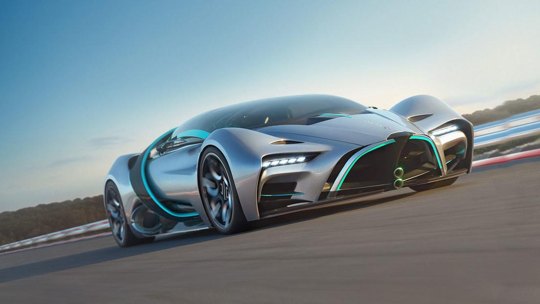 VIDEO: Hyperion presenta el XP-1, un coche con propulsión a hidrógeno que puede alcanzar los 356 km/h