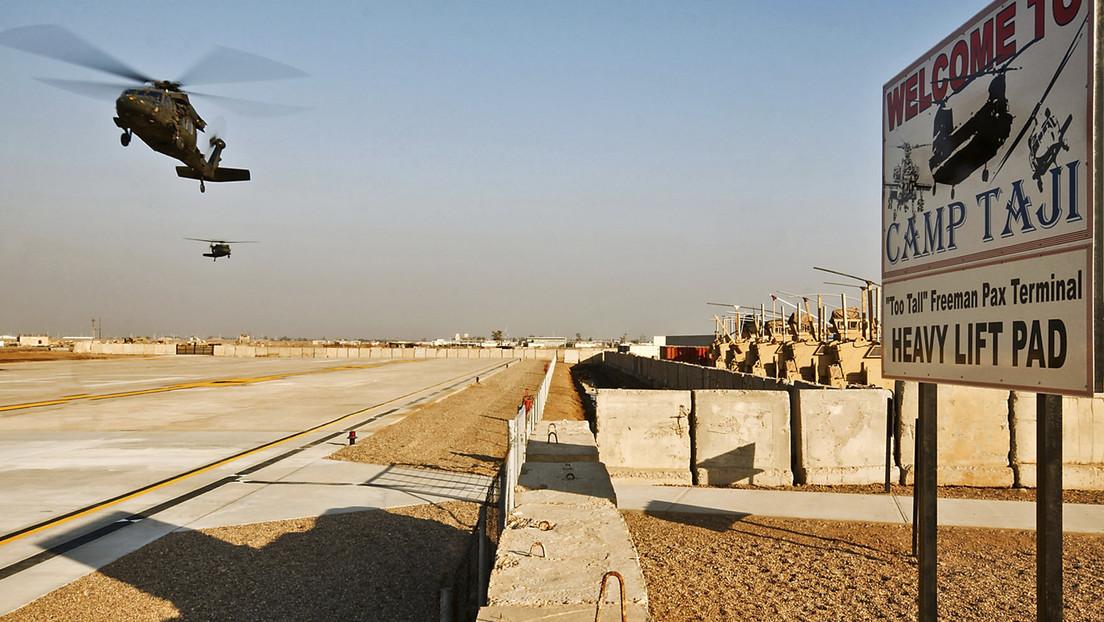 Dos cohetes impactan en un campamento iraquí que alberga a las tropas de la coalición