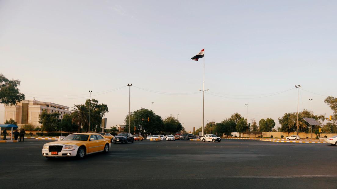 Un cohete impacta en la Zona Verde de Bagdad