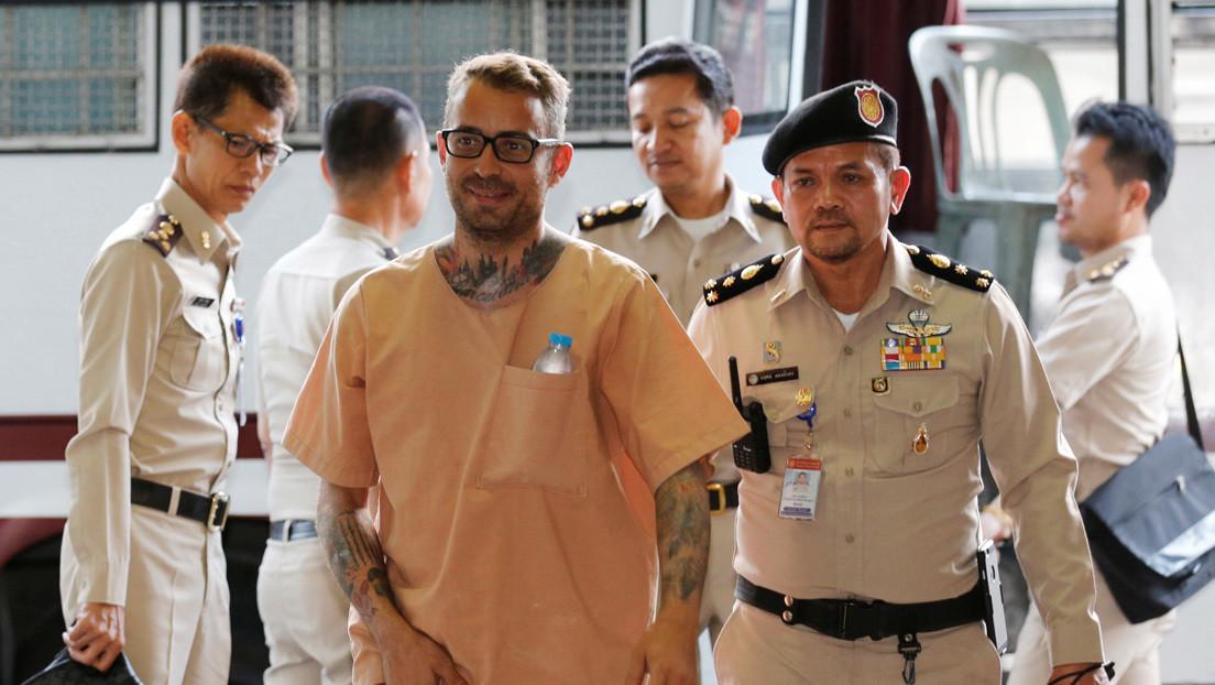 El rey de Tailandia conmuta la pena de muerte al español Artur Segarra por una cadena perpetua