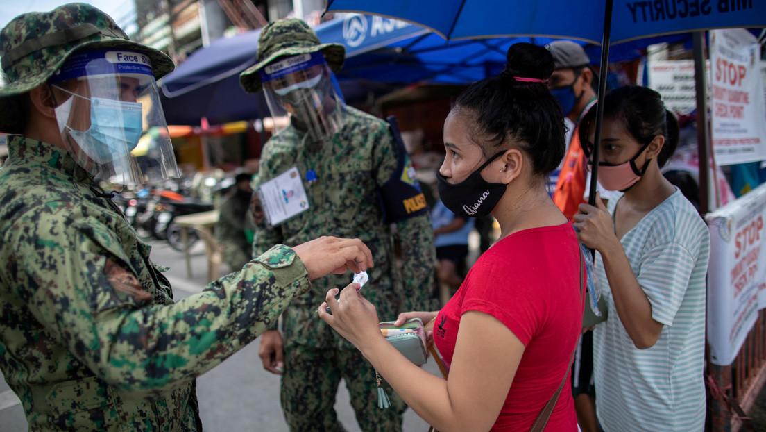 Detectan en Filipinas una cepa más contagiosa del coronavirus