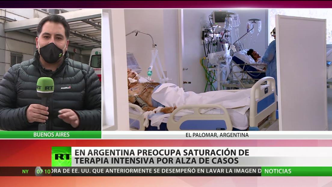 El aumento de casos de covid-19 en Argentina hace temer la saturación de terapia intensiva