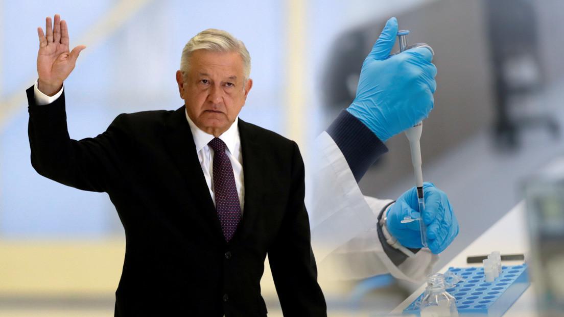 López Obrador asegura estar dispuesto a ser el primero en México en probar la vacuna rusa contra el coronavirus