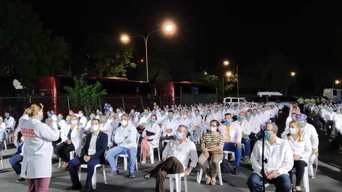 Llegan a Venezuela otros 230 médicos cubanos para sumarse a la lucha contra el coronavirus
