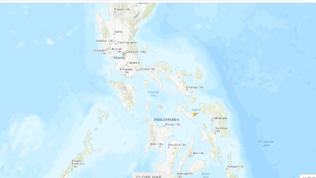 Filipinas: Un terremoto de magnitud 6,6 deja al menos un muerto