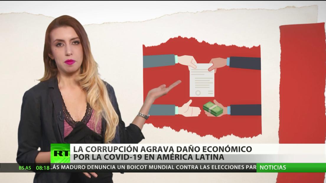 La corrupción agrava el daño económico por la pandemia en América Latina
