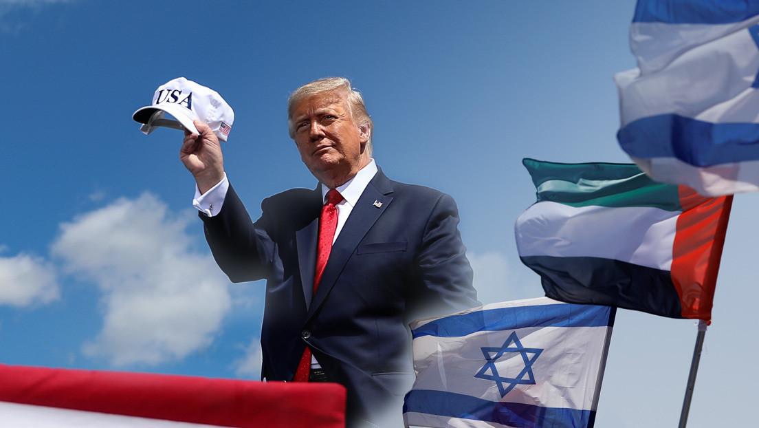 El acuerdo entre Israel y EAU, el último incendio de Donald Trump en Oriente Próximo