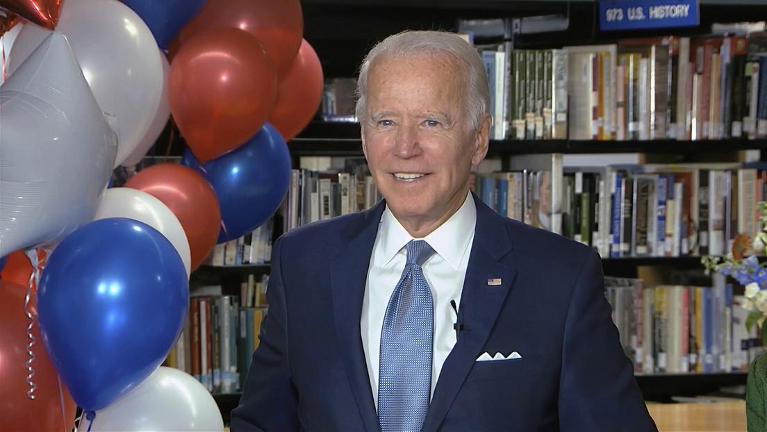 Los demócratas nominan a Joe Biden como candidato presidencial para enfrentar a Trump