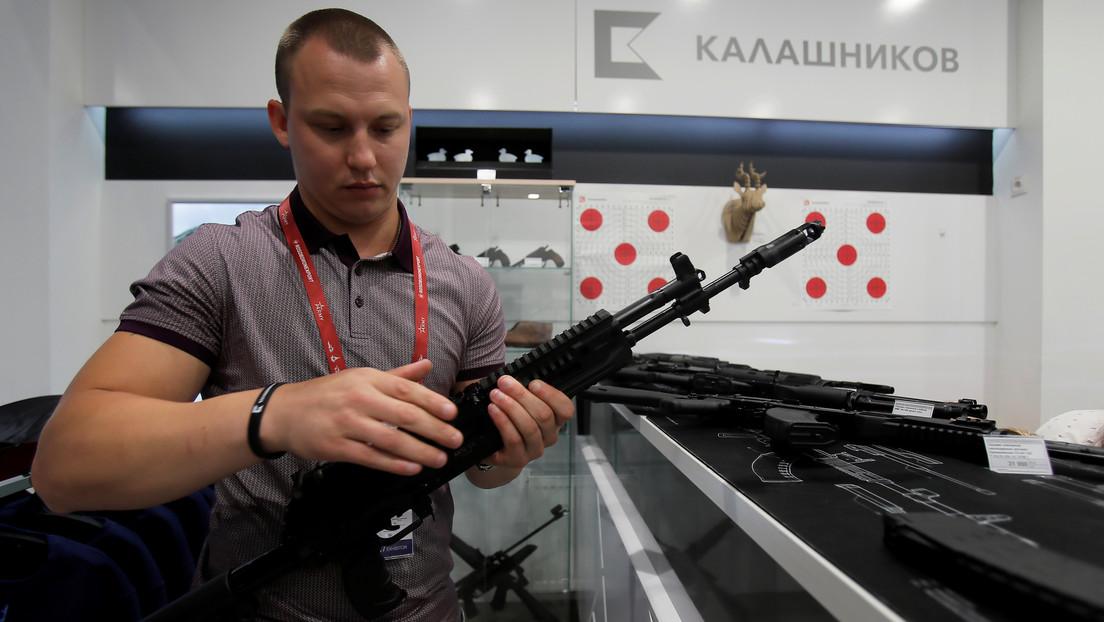 Kaláshnikov presenta el primer fusil ruso inteligente capaz de sincronizarse con dispositivos móviles (VIDEO)
