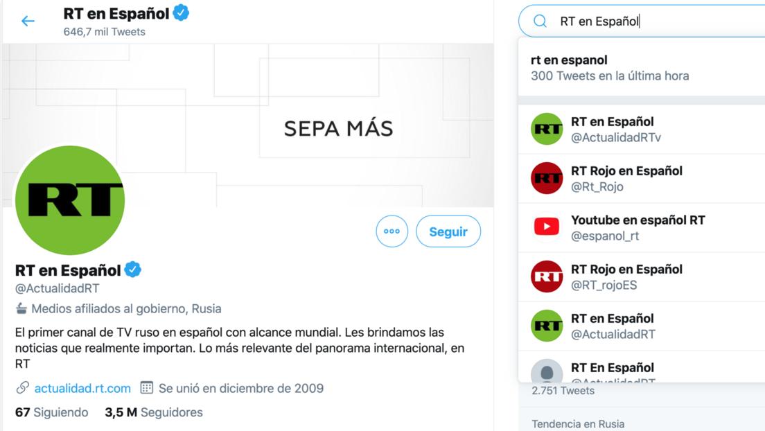 Twitter deja de mostrar en la búsqueda las cuentas de RT a usuarios que no las siguen