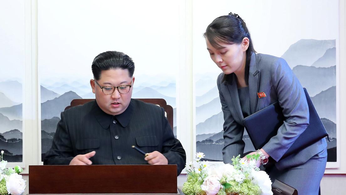 Inteligencia surcoreana: Kim Jong-un delegó parte del poder en su hermana