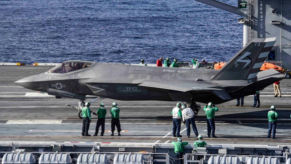 EE.UU. podría iniciar el desarrollo de un avión de combate naval de sexta generación