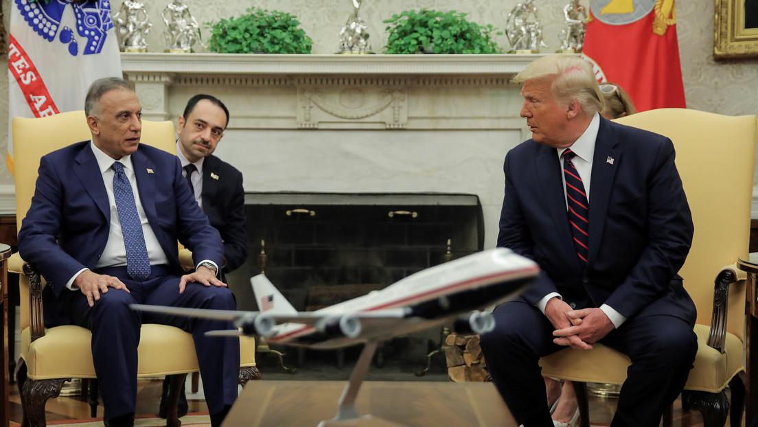 """""""Esperamos el día en que no tengamos que estar allí"""": Trump reafirma el plan de retirar todas las tropas de Irak en breve"""