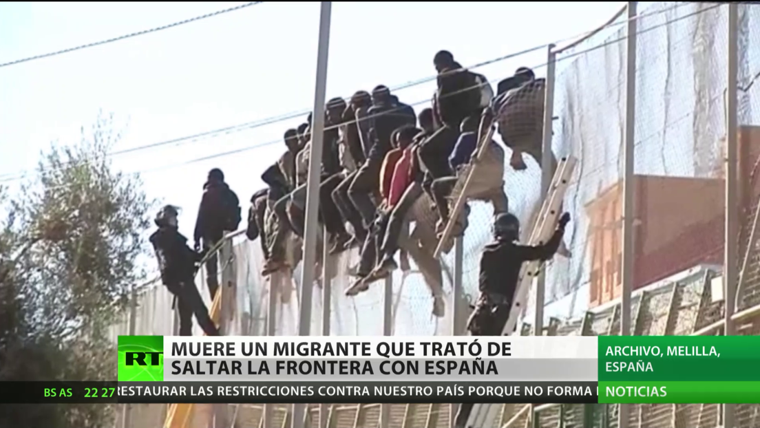 Muere un migrante que trató de saltar la valla fronteriza de España desde Marruecos