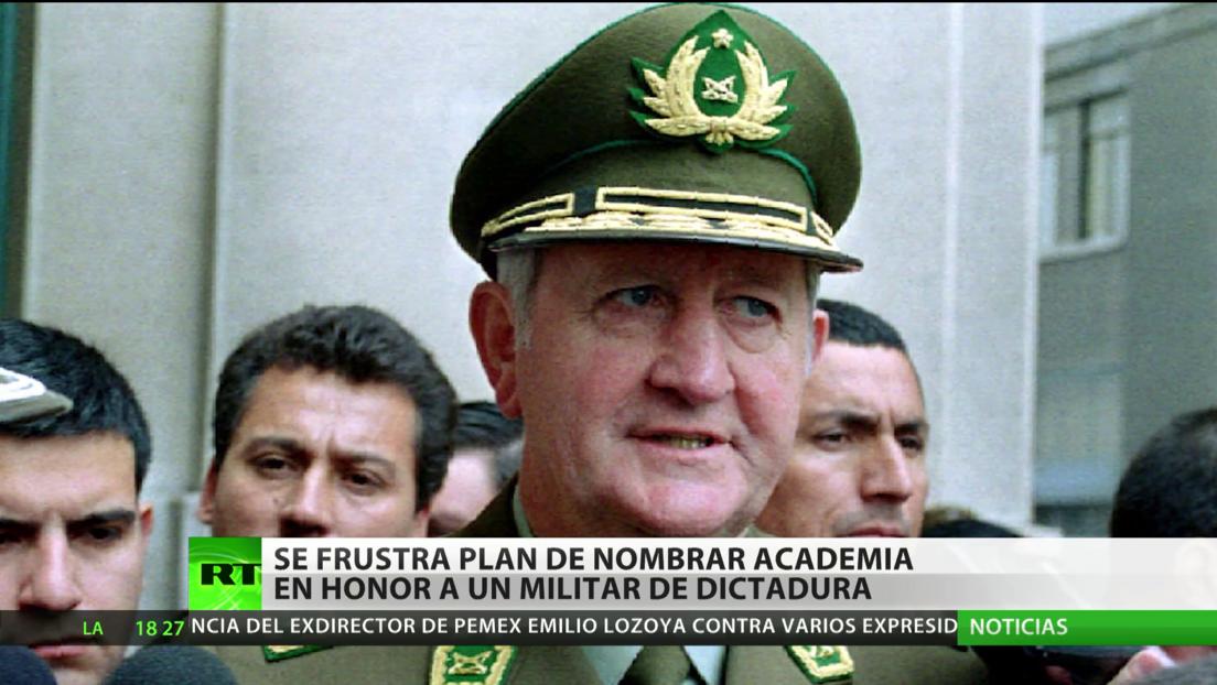 Chile: Se frustra el plan de nombrar la Academia de Ciencias Policiales en honor a un militar de la dictadura