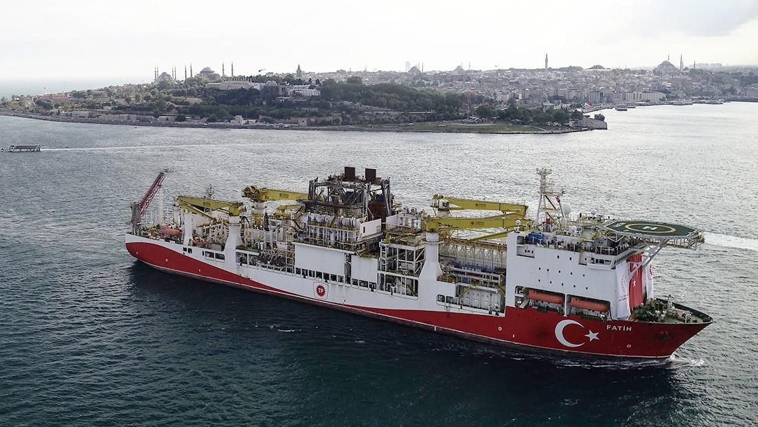 Turquía descubre en el mar Negro una reserva de gas de hasta 320.000 millones de metros cúbicos