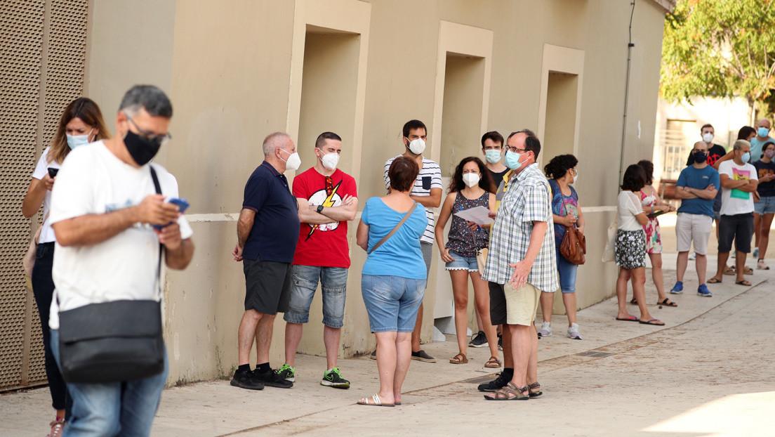 Los contagios siguen aumentando en España: más de 8.100 nuevos casos, 3.650 en las últimas 24 horas