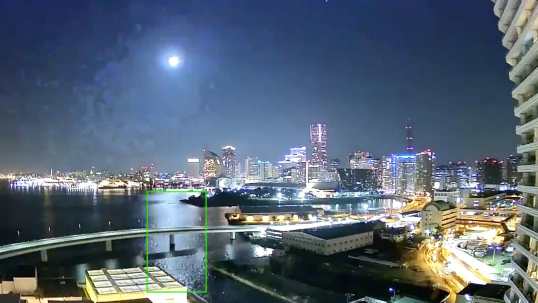 """VIDEO: Un meteorito """"brillante como la luna llena"""" ilumina el cielo nocturno sobre Japón"""