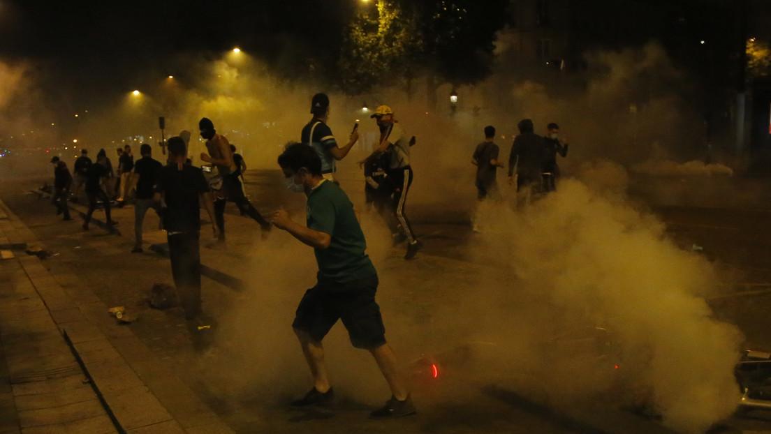 VIDEOS: Enfrentamientos, vandalismo y saqueos en París tras la derrota del PSG en la final de la Champions