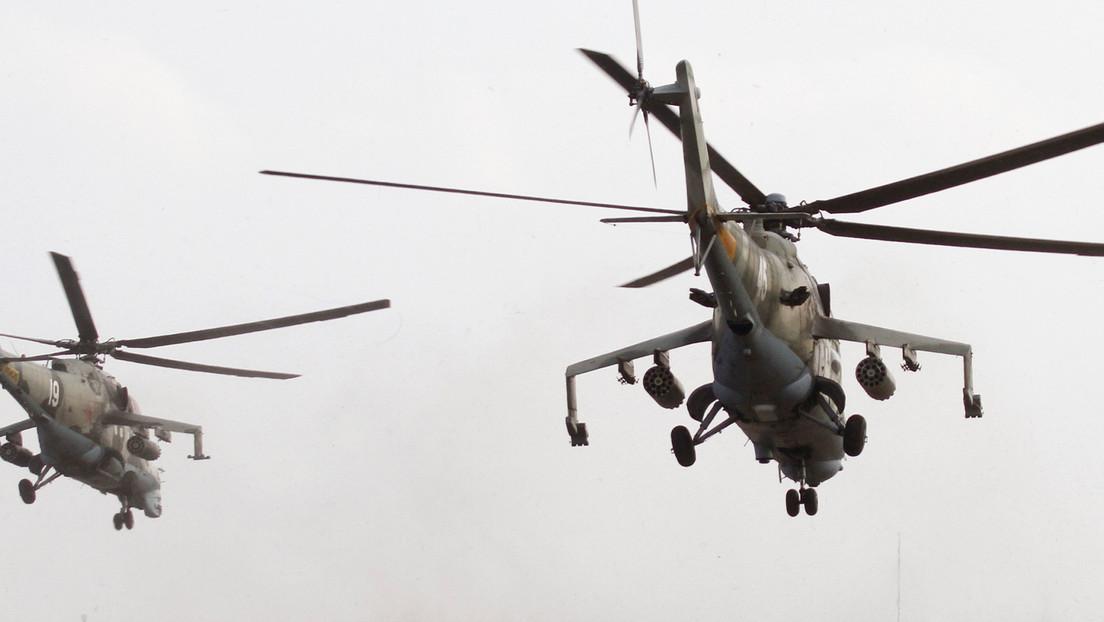 Helicóptero MI-24 Bielorruso
