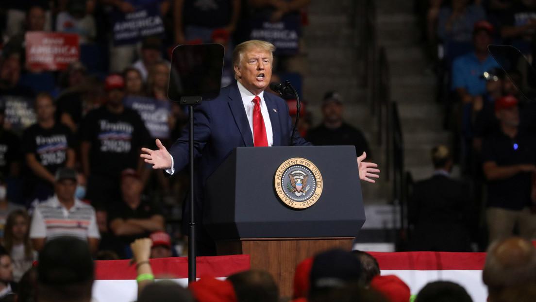 Trump es nominado formalmente como candidato del Partido Republicano a la presidencia de EE.UU.