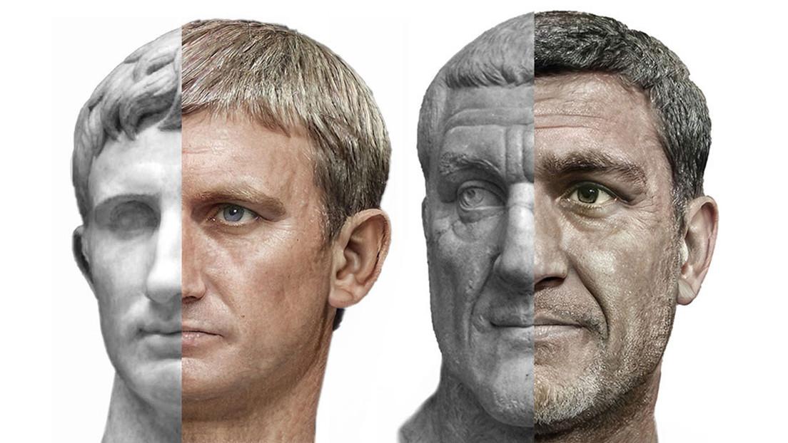 FOTOS: Restablecen la apariencia de 54 emperadores romanos con ayuda del aprendizaje automático