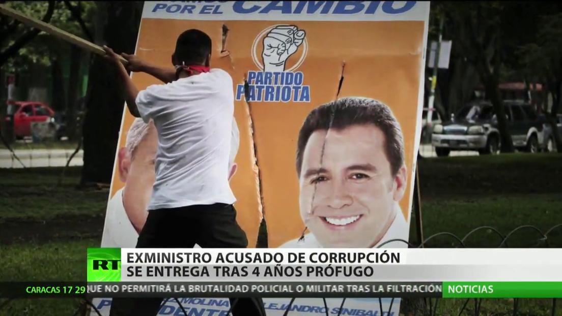 Exministro de Guatemala acusado de corrupción se entrega a la Justicia tras estar 4 años prófugo