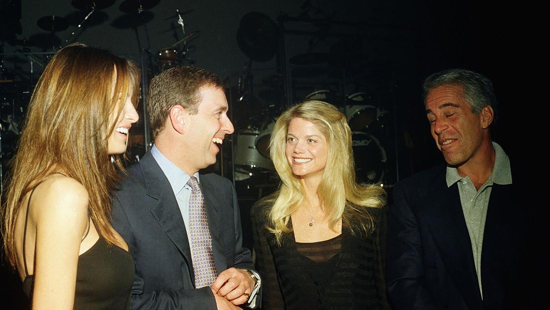 Exmodelo afirma que una amiga suya se acostó con el príncipe Andrés por orden de Jeffrey Epstein