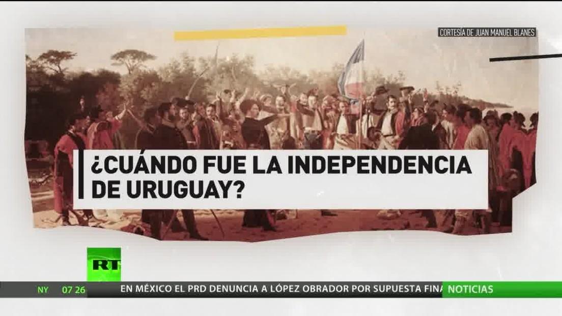 Uruguay celebra el Día de la Independencia