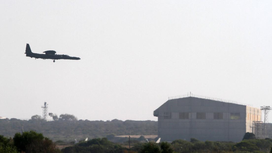 China asegura que un avión espía de EE.UU. penetró en una zona donde realizaba ejercicios militares