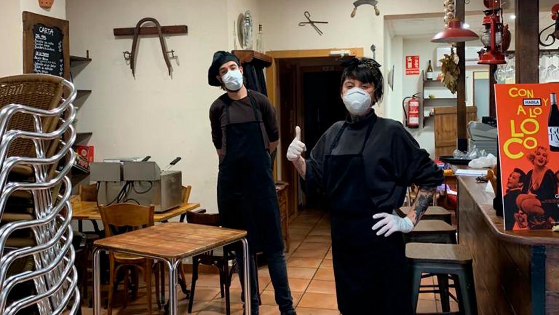 4.200 euros en multas a un restaurante de España por repartir comida a familias sin recursos durante el confinamiento