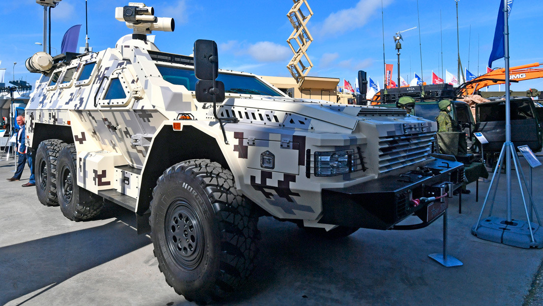 El sistema antidrones ruso Rat debuta en la feria militar Army 2020