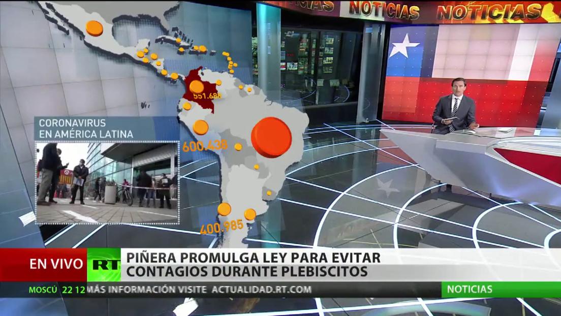 Últimas informaciones sobre la situación del coronavirus en América Latina