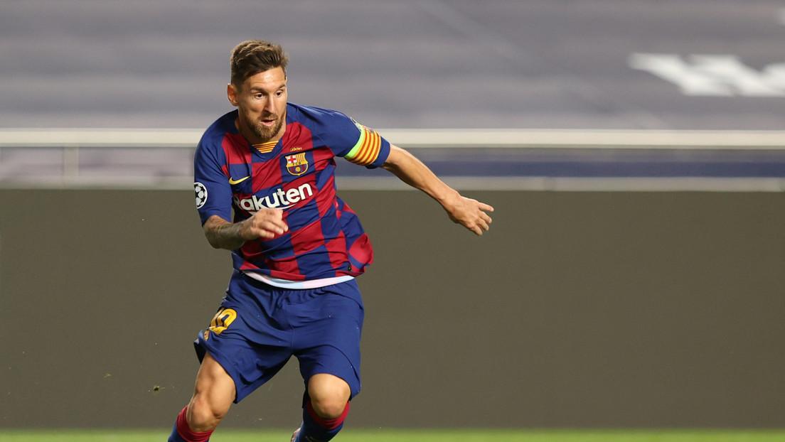 Futbolistas, clubes e hinchas hacen explotar las redes con sus reacciones ante la reportada salida de Messi del F.C. Barcelona