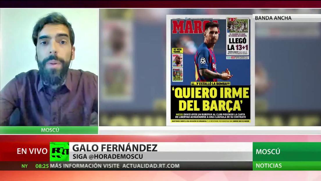 Conmoción en el fútbol: Messi dijo que quiere irse del Barcelona