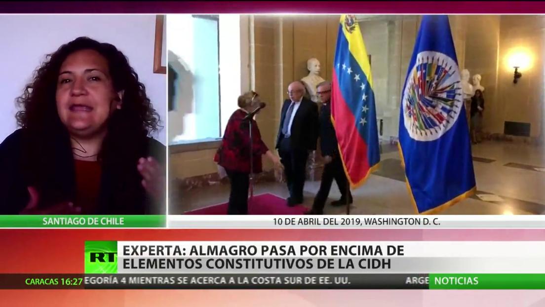 CIDH acusa a Luis Almagro de violar su autonomía e independencia